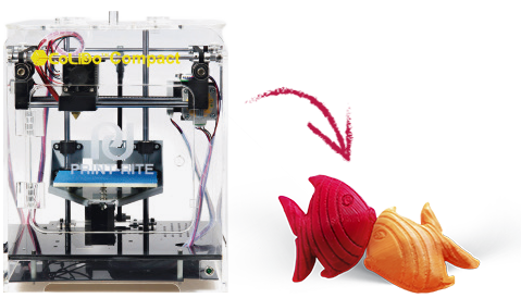 impresora dibuprint 3d - IT3D