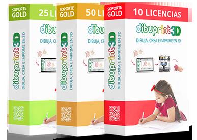 cajas castellnao licencias gold software dibuprint 3d