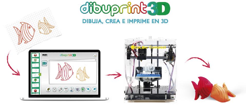 dibuprint 3D articulo