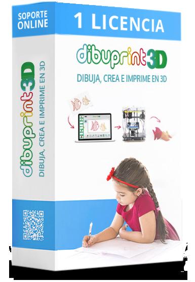 dibuprint 3d licencia basic 1 licencia