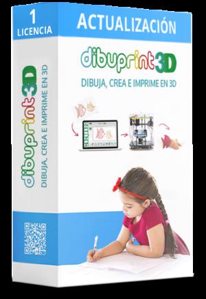 dibuprint 3d licencia basic actualización