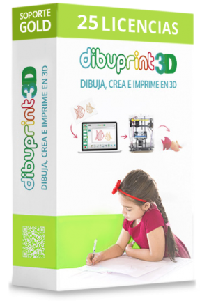 dibuprint 3d licencia medium 25 licencias