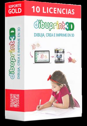dibuprint 3d licencia small 10 licencias