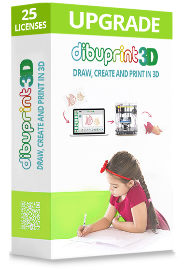 dibuprint 3d medium renovación