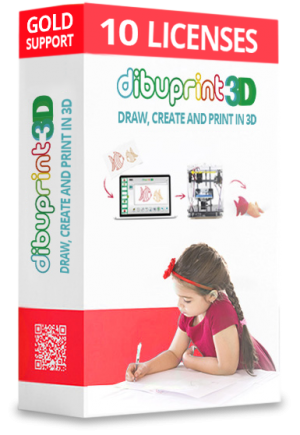 small licenses dibuprint 3d